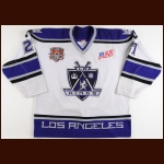 "2001-02 Bryan Smolinski Los Angeles Kings Game Worn Jersey – ""2002 All Star"" – ""AM"" – Team Letter"
