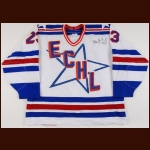 1995-96 Maco Balkovec ECHL All Star Game Worn Jersey