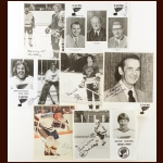 St Louis Blues Autographed Group of (62) – Includes Hall of Famers and Deceased