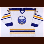 1988-89 Tom Barrasso Buffalo Sabres Game Worn Jersey