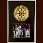 John Bucyk Boston Bruins Autographed Matted & Framed Display