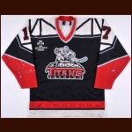 1999-00 Jerry Keefe Trenton Titans Game Worn Jersey