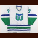 1989-90 Randy Cunneyworth Hartford Whalers Game Worn Jersey