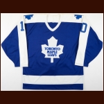 1990-91 Vincent Damphousse Toronto Maple Leafs Game Worn Jersey
