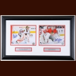 Christobal Huet & Annti Niemi Chicago Blackhawks Autographed Display – NHL Authenticated