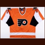 Joe Watson Philadelphia Flyers Alumni/Old-Timers Worn Jersey – AHL/NHL