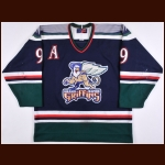 2000-01 David Roberts Grand Rapids Griffins Game Worn Jersey