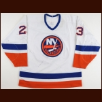 1993-94 Vladimir Malakhov New York Islanders Game Worn Jersey - Photo Match