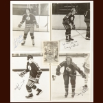 Kansas City Scouts Autographed Group of (5) – Includes Hall of Famer