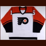 2003-04 Peter White Philadelphia Flyers Game Worn Jersey