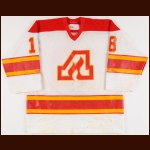 1979 Darcy Rota Atlanta Flames Game Worn Jersey