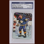 Marcel Dionne 1976 Topps Glossy – Los Angeles Kings – Autographed – PSA/DNA