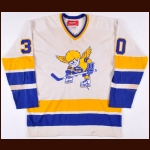 1974-75 Mike Curran WHA Minnesota Fighting Saints Game Worn Jersey