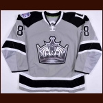 "2013-14 Drew Doughty Los Angeles Kings Stadium Series Game Worn Jersey – ""2014 Stadium Series"" - Stanley Cup Season – Team Letter"