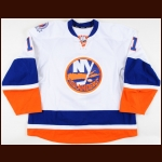 "2011-12 Brian Rolston New York Islanders Game Worn Jersey – ""40-year Anniversary"""
