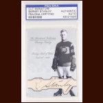 Barney Stanley Autographed Card - The Broderick Collection - Deceased