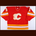 1988-89 Rick Wamsley Calgary Flames Stanley Cup Finals Game Worn Jersey - Photo Match – The Rick Wamsley Collection – Rick Wamsley Letter
