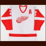 1986-88 Mike O'Connell Detroit Red Wings Game Worn Jersey
