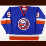 1983-84 Clark Gillies New York Islanders Game Worn Jersey - Photo Match