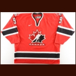 2005 Sidney Crosby Team Canada World Juniors Championships Replica Jersey