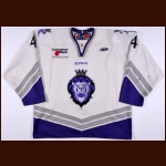 2006-07 Jeff State Reading Royals Game Worn Jersey – ECHL Letter