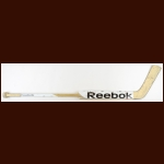 Marc-Andre Fleury Pittsburgh Penguins White Reebok Game Used Stick