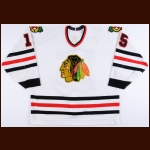 1993-94 Rich Sutter Chicago Blackhawks Game Worn Jersey