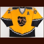2002-03 Martin Lapointe Boston Bruins Game Worn Jersey – Alternate