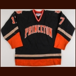 1986 Princeton University Game Worn Jersey – Player #17