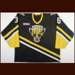 1997-98 Trevor Ettinger Cape Breton Screaming Eagles Game Worn Jersey – Rookie