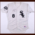 "1991 Bo Jackson Chicago White Sox Game Worn Jersey – ""1991 Comisky Park Inaugural Year"" – 3rd Party Authentication Letter"