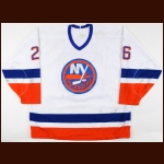 1988-89 Pat Flatley New York Islanders Game Worn Jersey