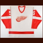 1986-87 Darren Veitch Detroit Red Wings Game Worn Jersey - Retired #5