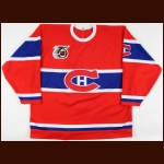 1991-92 Todd Ewen Montreal Canadiens Game Worn Jersey - Turn Back The Clock