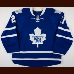 2013-14 James van Reimsdyk Toronto Maple Leafs Game Worn Jersey - First 30-Goal Season – Team Letter