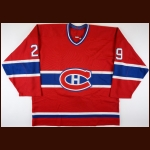 2000-01 Darryl Shannon Montreal Canadiens Game Worn Jersey - Last NHL Game - Photo Match - The Darryl Shannon Collection – Darryl Shannon Letter