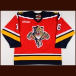 1999-00 Mike Sillinger Florida Panthers Game Worn Jersey