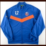 Matt Martin New York Islanders Warm-Up Jacket