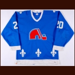 Early 1980's Anton Stastny Quebec Nordiques Game Worn Jersey