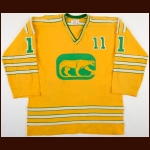 1973-74 Brian Coates WHA Chicago Cougars Game Worn Jersey