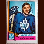 1974-75 OPC Borje Salming - Autographed