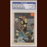 Fleming Mackell 1954 Parkhurst – Boston Bruins – Autographed – Deceased – PSA/DNA