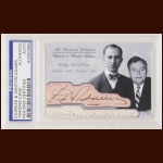 Charles & Weston Adams Autographed Card - The Broderick Collection - Deceased