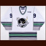 2014 Tyler Seguin Plymouth Whalers Pre-Season & 2014 Alumni Game Worn Jersey - Photo Match