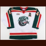 2006-07 Curtis Murphy Houston Aeros Game Worn Jersey – AHL Letter