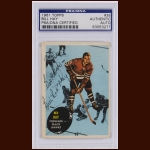 "Bill ""Red"" Hay 1961 Topps – Chicago Blackhawks – Autographed – PSA/DNA"