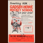 Bill Gadsby/Gordie Howe Hockey School Lot – Autographed - The Bill Gadsby Collection – Edna Gadsby Letter