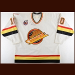 1992-93 Pavel Bure Vancouver Canucks Game Worn Jersey - Career Best 60-Goal & 110-Point Season - First All Star Season - Photo Match - Video Match