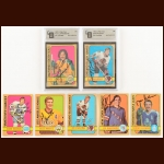 1972-73 OPC Autographed Card Group of (40) – Includes Hall of Famers and Deceased