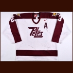 Early 2000's Adam Elzinga Peterborough Petes Game Worn Jersey